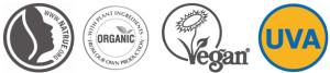 natrue, orgaanic, vegan, uva/uvb