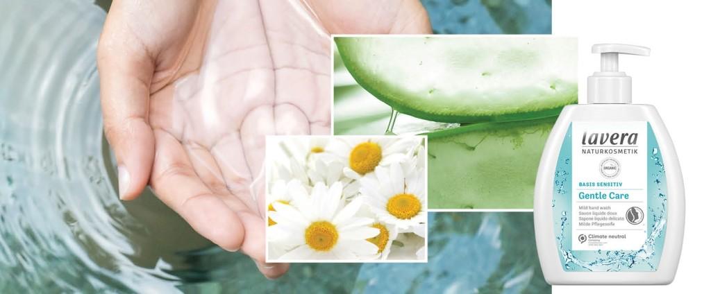 lavera натурален течен сапун