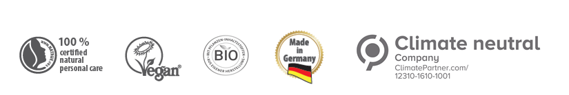 lavera био natrue веган произведено в Германия климатично неутрална компания